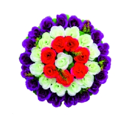 1.5 FT X 2 FT - Artifical Plastic Flower Bouquet - Flower Decoration - Multi Color