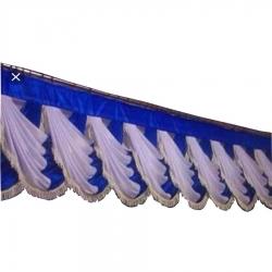 Nevi Blue & White Color - Jhalar - Mandap Jhalar For Wedding & Party - Made of Satin Cloth