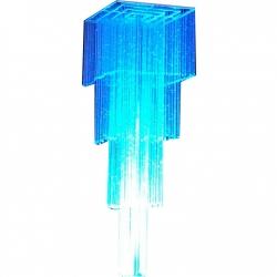 8 FT - Crystal Celing Jhumar - Fancy Jhumar - Hanging Jhumar - White Color