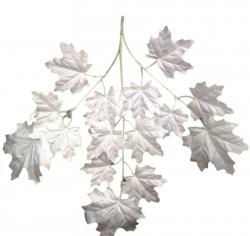 10 Inch - Plastic Artificial Leaf - Hanging Leaf - Flower Decoration (12 Pieces )