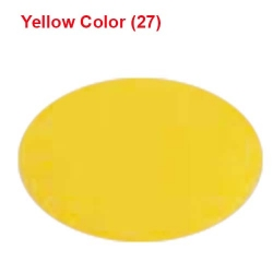 6 Meter Chandni - 62 Inch Panna - Yellow Color - Heavy Cloth.