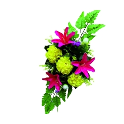 Plastic Flowers Bouquet for Party / Wedding /  Office Decoration Multi Color.