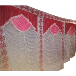 Mandap Stage Parda - Side Wall Parda - Stage Curtain - Background Curtain - MultiColor