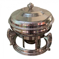 7 LTR - Chafing Dish - Hot Pot Dish - Garam Set - Buffet Set - Made of Stainless Steel - Weight ( 4.8 KG)