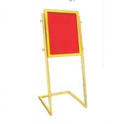 Premium Quality Stainless Steel Welcome Board - Display Board - Red Color for Hotel & Banquet Hall