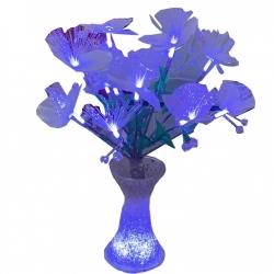 Electronic Center Fiber Vase - Purple Color.