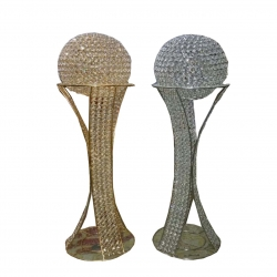 Decorative Piller ball Fancy Stand Indoor & Outdoor For Wedding & Reception .