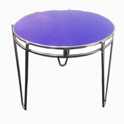 Stainless Steel Round Table -(Size 4 X 4)