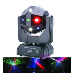 3 in 1 Beam Laser Strobe Led football Moving Head Stage Effect Light dj Lighting