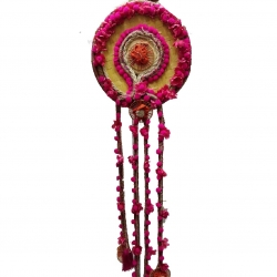 3 FT - Jute Hanger Round Latkan - Decorative Jhumar .