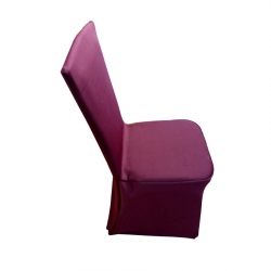High Quality Maroon Spandex Chair Covers Wedding Universal Fit Size.