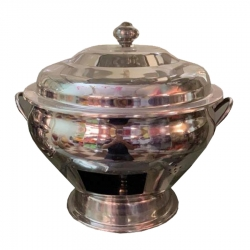 Chafing Dish / 7 Ltr / Garam Set / Hot Pot Dish / Made Of Stainless Steel.