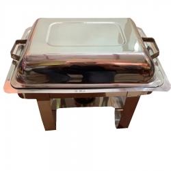 7 LTR - Chafing Dish - Hot Pot Dish - Garam Set - Buffet Set - Made of Stainless Steel - Weight ( 4.6 KG)