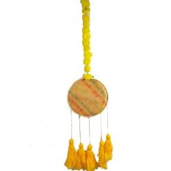 2.5 FT - Rajasthani Wall Hanging Handicraft - Wall Hanging - Yellow Color