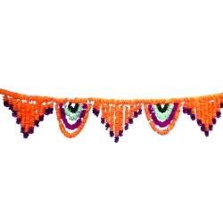 10 Feet Plastic Artificial Flower Toran Garland Jhalar , Main Door Hanging for Wedding & Decoration