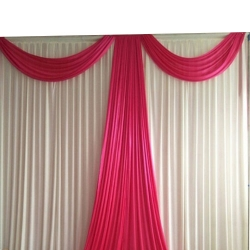 10 FT X 12 FT - Parda - Curtain - Stage Parda - Wedding Curtain - Mandap Parda - Made Of Brite Lycra - Multi Color