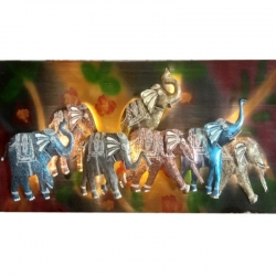 1.5 FT X 4 FT - LED Wall Frame - Electronic Wall Frame - Seven Elephant Wall frame - Multi Color