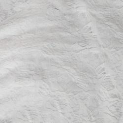 Russel Net - 5 Feet Panna - Floral Net - Event Cloth - White Color