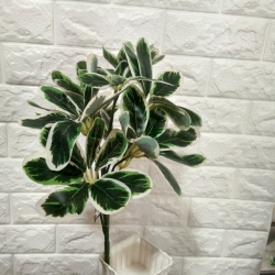 15 Inch - Artificial Flower Plant - Steam - Tree Trunks - Fake Flowers Artificial Plant For Wedding - Reception - Home Decor - Multi Color