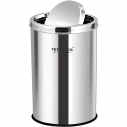 18 LTR - Swing Bin - Dustbin - Made Of Stainless Steel