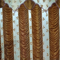 10 FT X 15 FT Parda - Curtain - Stage Parda - Wedding Curtain - Mandap Parda Made Of Brite Lycra Embroidery.