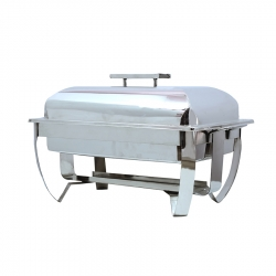 10 LTR - Chafing Dish - Hot Pot Dish - Garam Set - Buffet Set - Made Of Stainless Steel.
