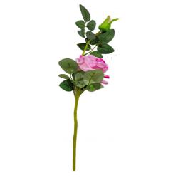 Height -18 Inch - Rose Flower Stick - Artificial Stick - AF- 168 - Stick - Pink Color