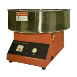 20 Inch - Electric Candy Machine - Cotton Candy Maker - Detachable Steel & Fiber Casing.