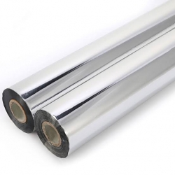 30 Inch - Square Table Roll Silver Color - Thickness 12 to 14 Stamping Foil & Metallize Foil