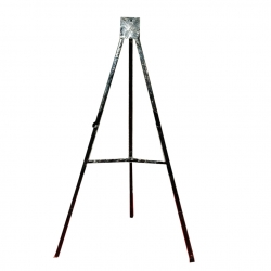 Notice Board Stand - Drawing Board Stand - Welcome Board Stand - Black Color