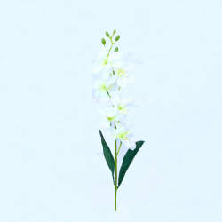 24 Inch - Natural Orchid Artificial Flower Stick - Made Of Plastic