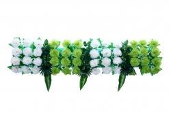 4 FT - Plastic Artificial Flower Panel - Flower Carry - Flower Decoration - MultiColor