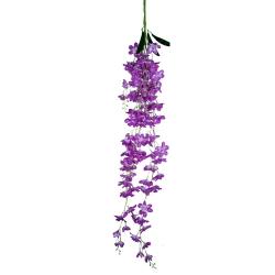 4.25 FT - Plastic Artificial Flower - Latkan - Flower Decoration - Light Purple Color