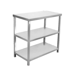 24 Inch X 60 Inch X 32 Inch - Stainless Steel Kitchen Working Heavy Steel Table for Food and Storage.