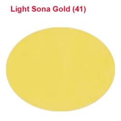Micro Janta Quality - 39 Inch Panna - 4 KG Quality - Light Sona Color
