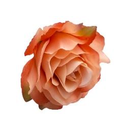 3.5 Inch - Loose Flower - Artificial Flower - Ceiling Flower - Flower Decoration - Light Orange & White Color