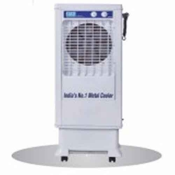 32 LTR - Tower Cooler - Metal Ultracool - Air Cooler - Cooler 300 S - With Trolley - White Color