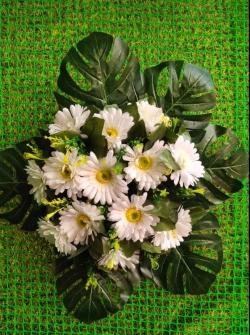 1.25 FT- Artificial Plastic Flower Bouquet - Flower Decoration - Multi Color