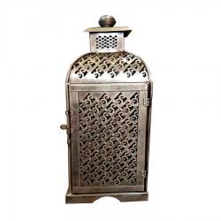18 Inch - Long Iron Lanterns - Antique Showpiece - Pot Beautiful Decor Article - Golden Color