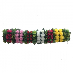 3 FT - Plastic Artificial Flower Panel - Flower Carry - Flower Decoration - Multi Color