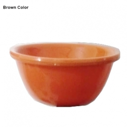 Small Katori - Curry Bowls or Dessert Bowls Made Of Food-Grade Virgin Plastic -  Brown Color