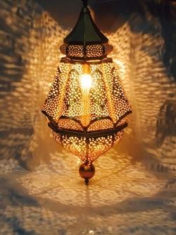 24 Inch - Decorative Lanterns - Hanging Lanterns - Khandil - Made Of Iron.