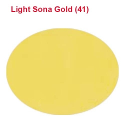 Rotto Cloth - 39 Inch Panna - Event Cloth - 5.7 Kg Quality - Light Sona Gold Color