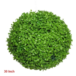 30 Inch - Artificial Plastic Ball - Hanging Ball - Green Color