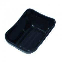 2.4 Inch X 3.4 Inch - Chatni Bowls - Dessert Bowl - Made of Acrylic - Black Color