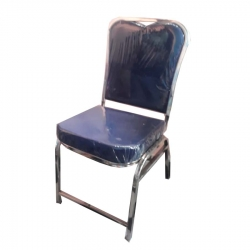 Stainless Steel - Chairs - Banquet Chairs - Decorative Chairs - Nevi Blue Color