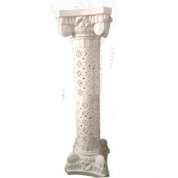 42 Inch - Artificial Fancy Pillar - Wedding Fiber Pilla..