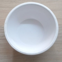 4.5 Inch - Bowl - Katori - Wati - Curry Bowls - Dessert Bowls - Made Of Food Plastic Unbreakable - White Color