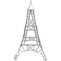 4 FT - Artificial Fancy Tower - Indoor & Outdoor Decoration for Wedding - Made of Iron