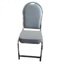 Stainless Steel - Chairs - Banquet Chairs - Decorative Chairs - Gray Color.